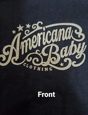 Americana Baby American Dream Shirt Sm