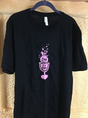 Pink Microphone T-Shirt XLG
