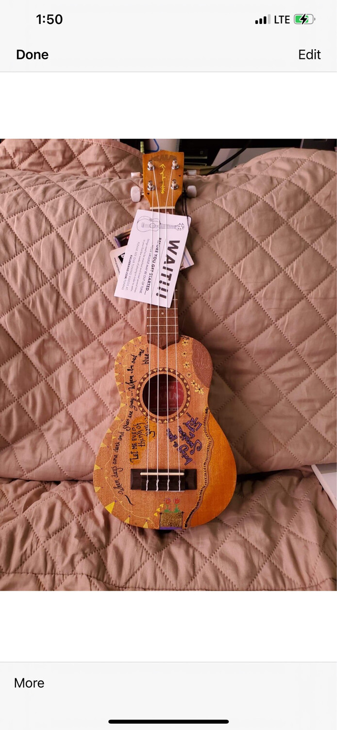Think Of Me Unique Uke