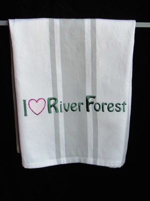 Tea Towel, Oak Park and River Forest