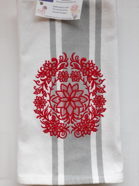 Tea Towel, Holiday Designs