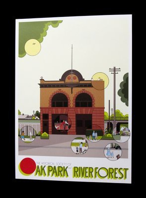 Chris Ware Firehouse Poster (Signed)