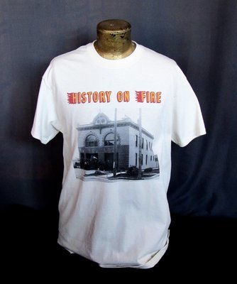 T-Shirt - History on Fire