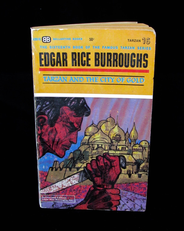Edgar Rice Burroughs Vintage Novels
