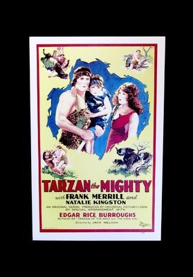 Tarzan movie lobby cards