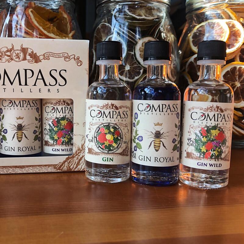 Gin Spirits 50ml Box Set