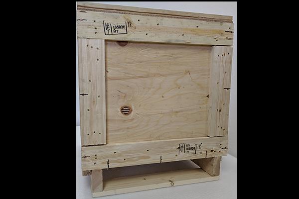 Small Heat Treated Wood Crate 24x24x28