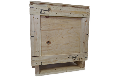 Small Heat Treated Wood Crate 24x24x28