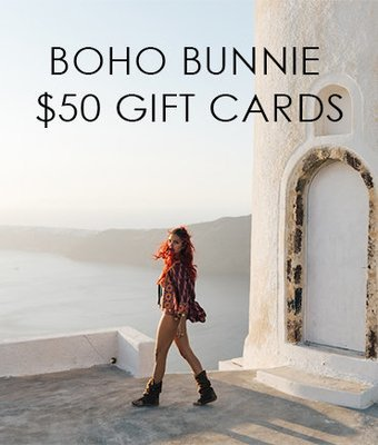 Boho Bunnie Gift Cards