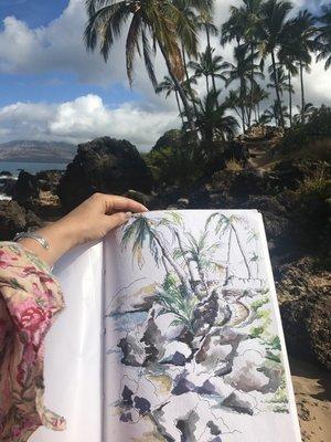 Maui Giclée Print