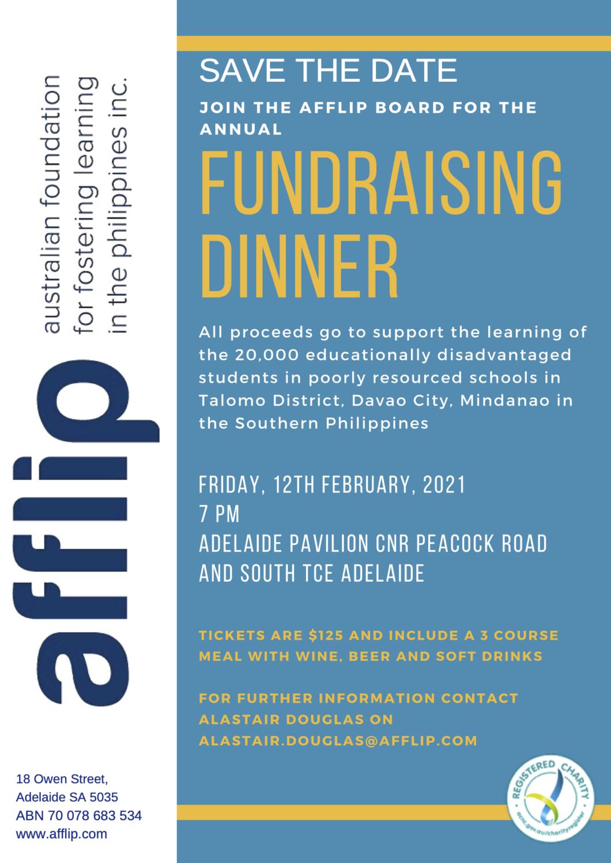 AFFLIP 2021 Fundraising Dinner