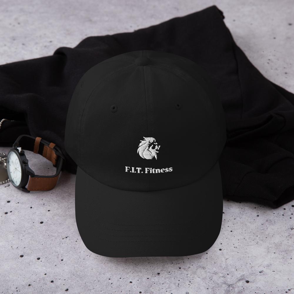 Dad hat w/ White Logo
