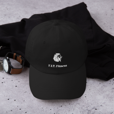 Dad hat w/ White Logo