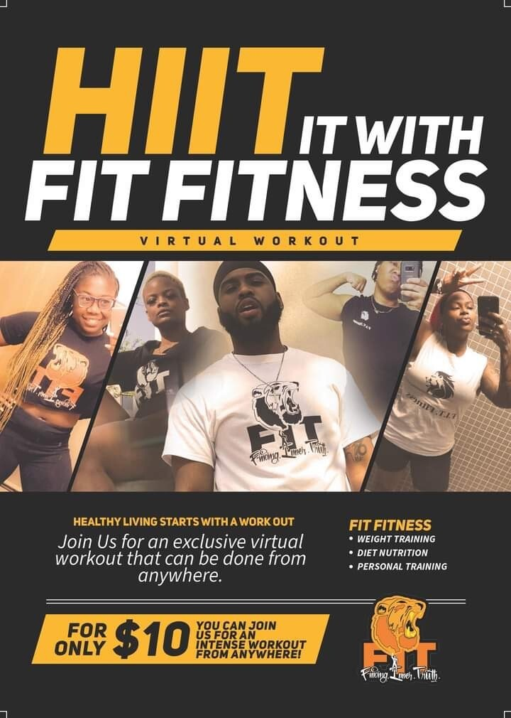 HIIT It With FIT Fitness Virtual Workout