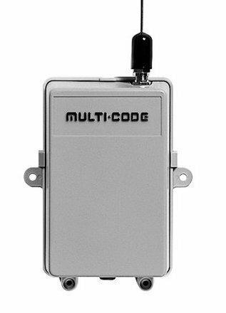 109920 Multi-Code Gate Receiver, 110vac, 300MHz