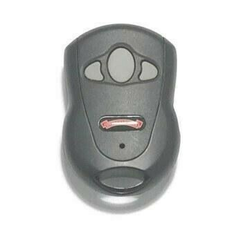 OCDCTD-3 Overhead Door Three Button Visor Key Chain Remote