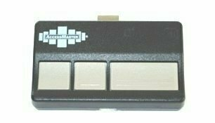 Sears Craftsman Replacement Three Button Visor Remote, 973AC
