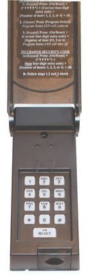 Wayne Dalton Wireless Keypad, 02-3039U