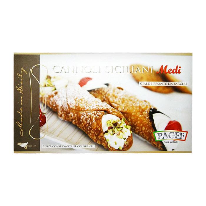 Cannoli Siciliani Medi | Cannoli Medi | PAGEF | 250 g (12 kpl)