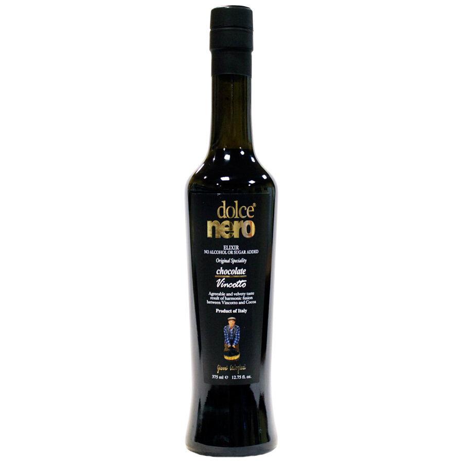 Vincotto-viinisuklaakastike Dolce Nero | Chocolate Vincotto | CALOGIURI | 375 ML