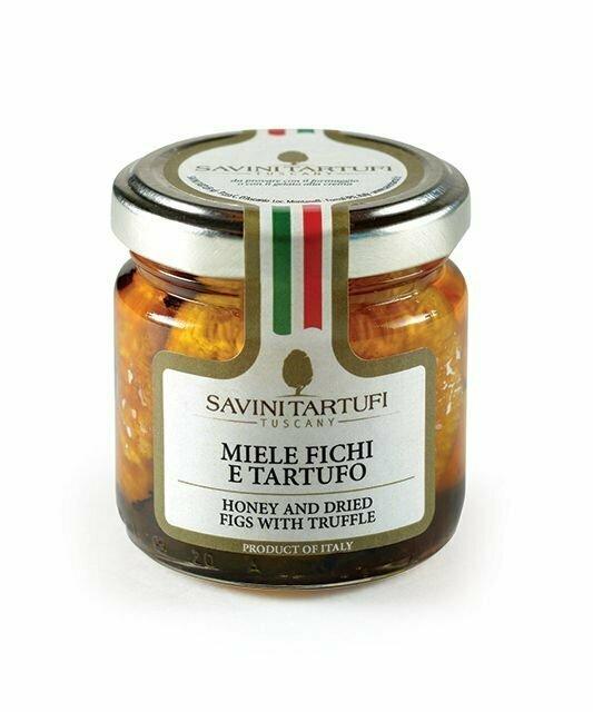 Hunajaa Ja Viikunoita Tryffelin Kanssa | Honey & Dried Figs With Truffle | SAVINI TARTUFI | 125 G