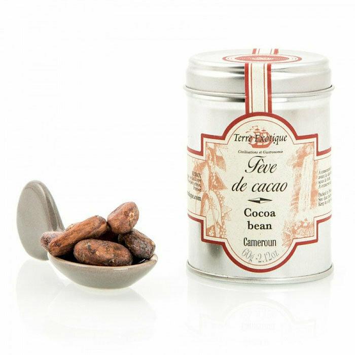 Kaakaopavut | Cocoa Beans | TERRE EXOTIQUE | 60 G