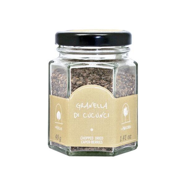 Kuivatut Kaprikset Muruiksi Hakattu   Chopped Dried Caper Berries   LA NICCHIA   40 G