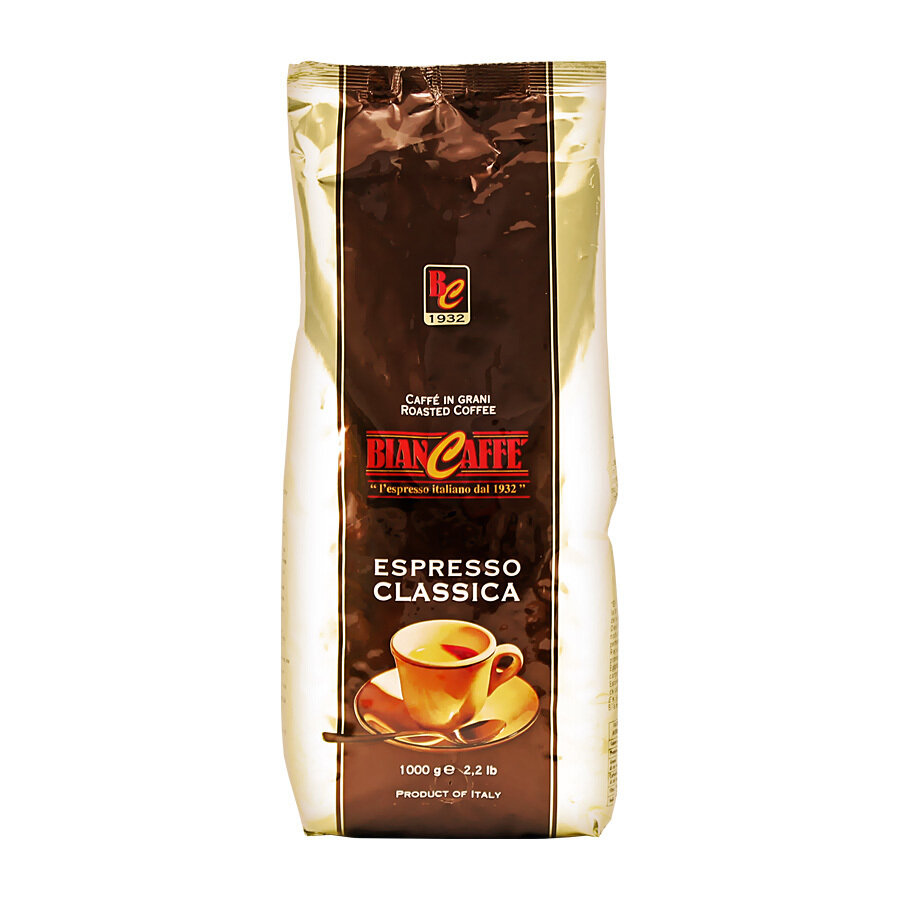 Kahvipavut Classica | Coffee Beans Espresso Classica | BIANCAFFE | 1 KG