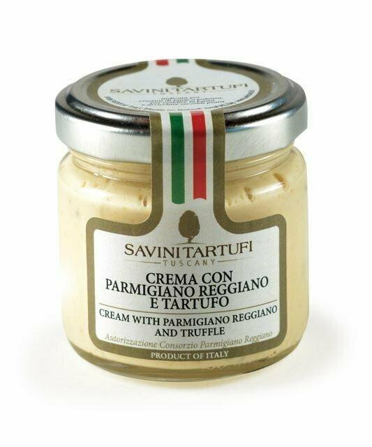 Parmigiano-tryffelikreemi   Parmigiano Truffle Cream   SAVINI TARTUFI   90g