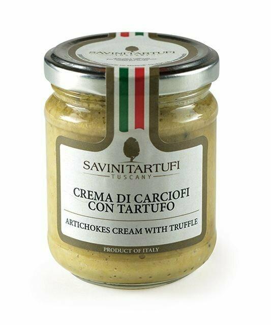 Artichokes Cream With Truffle | SAVINI TARTUFI | 90g