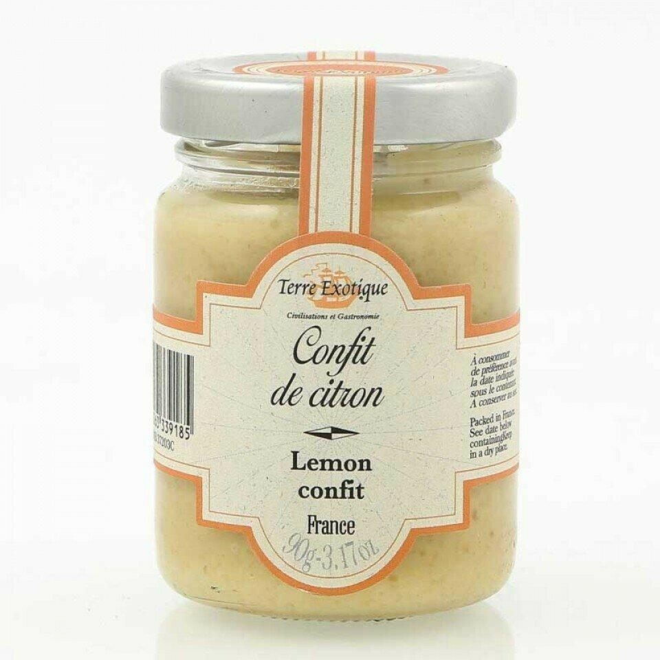 Sokeroitu Sitruunatahna   Candied Lemon Cream   TERRE EXOTIQUE   90 G
