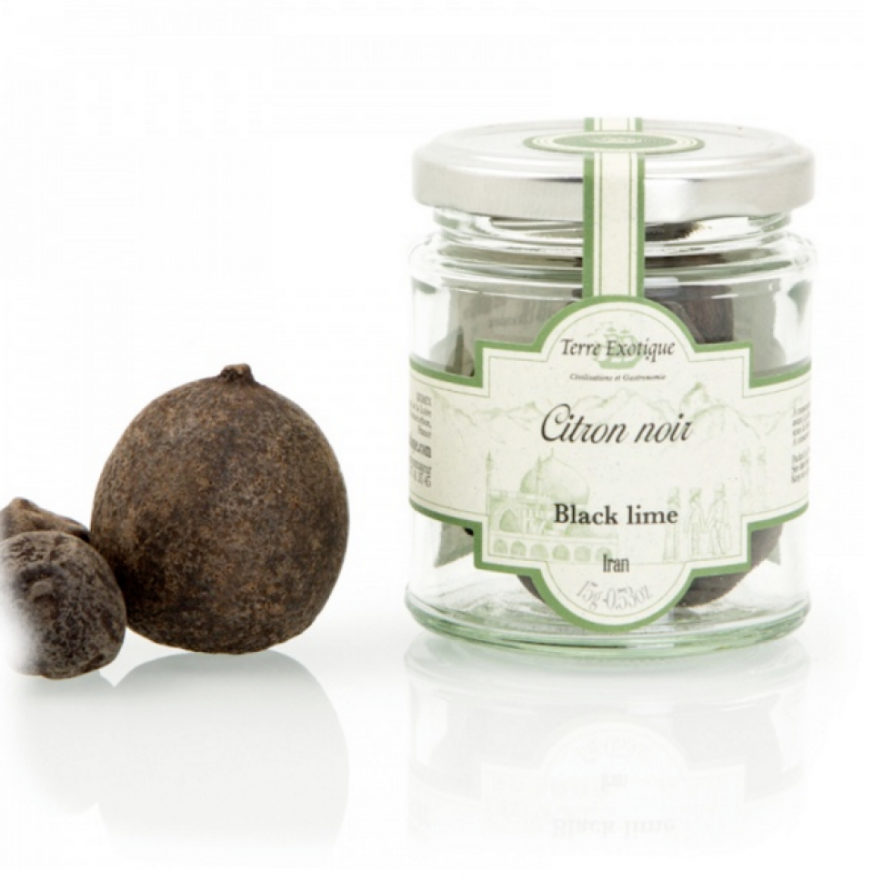 Dried Black Lime | TERRE EXOTIQUE | 15 G