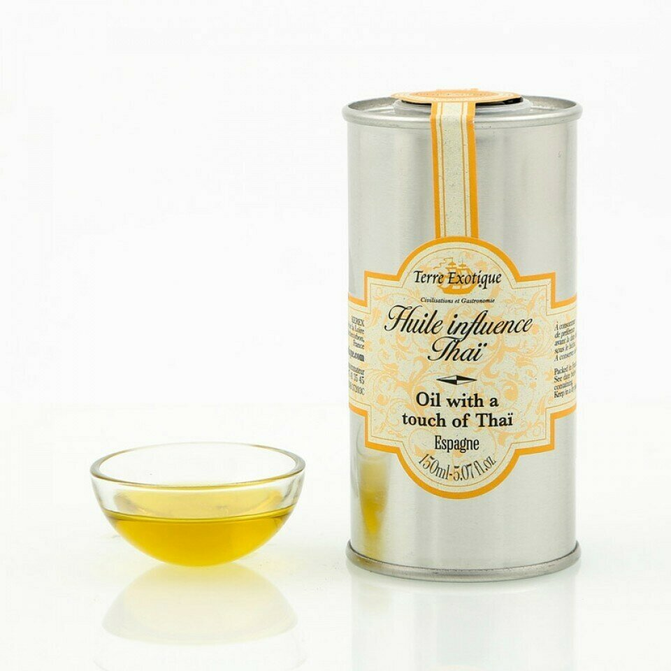Thaityyppinen Oliiviöljy | Thai Influence Olive Oil | TERRE EXOTIQUE | 150 ML