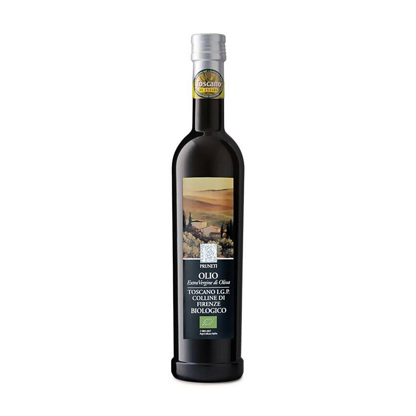 Luomu Ekstraneitsytoliiviöljy Toscana I.G.P. Colline Di Firenze | Organic Evoo Colline Di Firenze | PRUNETI | 500 ML