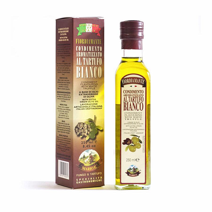 Valkotryffeleliöljy Ekstraneitsytoliiviöljyssä | MARIO F. | 250 ml