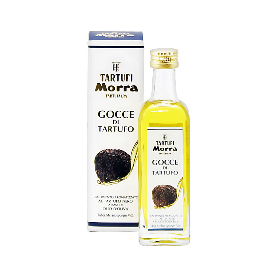 Black Winter Truffle Flavoured Olive Oil | TARTUFI MORRA | 55ml