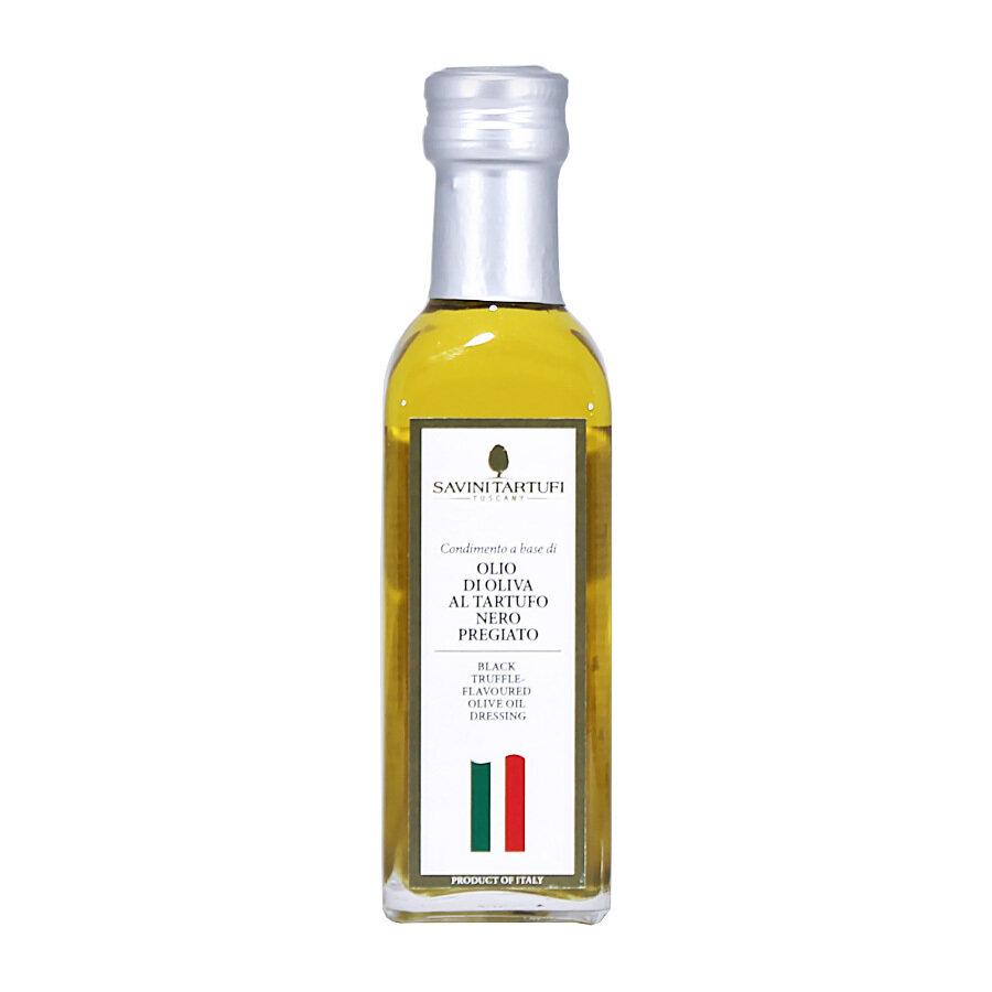 Black Winter Truffle Flavoured Olive Oil | SAVINI TARTUFI | 100ml