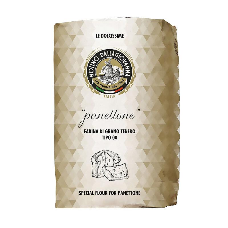"Vehnäjauho ""Panettone-00"" W-390 | Panettone Flour ""Panettone-00"" | MOLINO DALLAGIOVANNA | 25 KG"