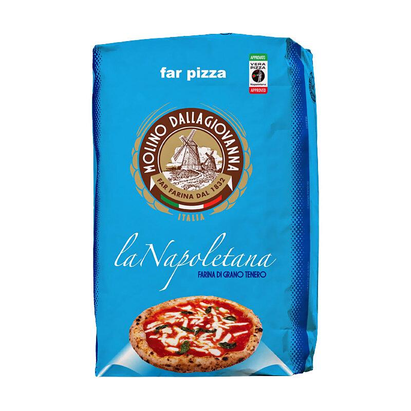 "Pizzajauho La Napoletana ""00"" W-310 | La Napoletana Pizza Flour | MOLINO DALLAGIOVANNA | 25kg"