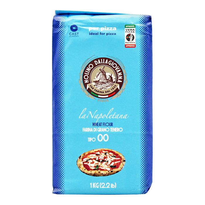 "Pizzajauho La Napoletana ""00"" W-310 | Pizza Flour La Napoletana | MOLINO DALLAGIOVANNA | 1 kg"