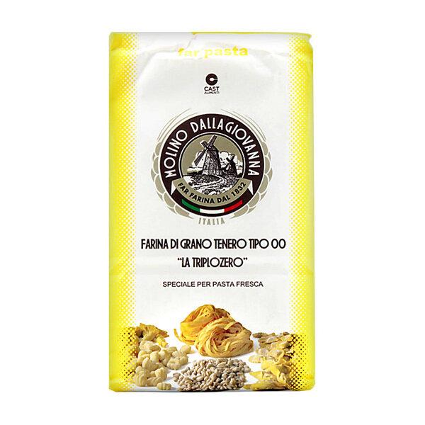 """Pastajauho Triplozero """"000""""   Triplozero Pasta Flour   MOLINO DALLAGIOVANNA   1 KG"""