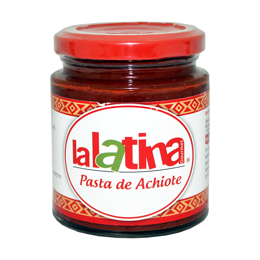 Achiotetahna | Achiote Pasta | LA LATINA | 225 G
