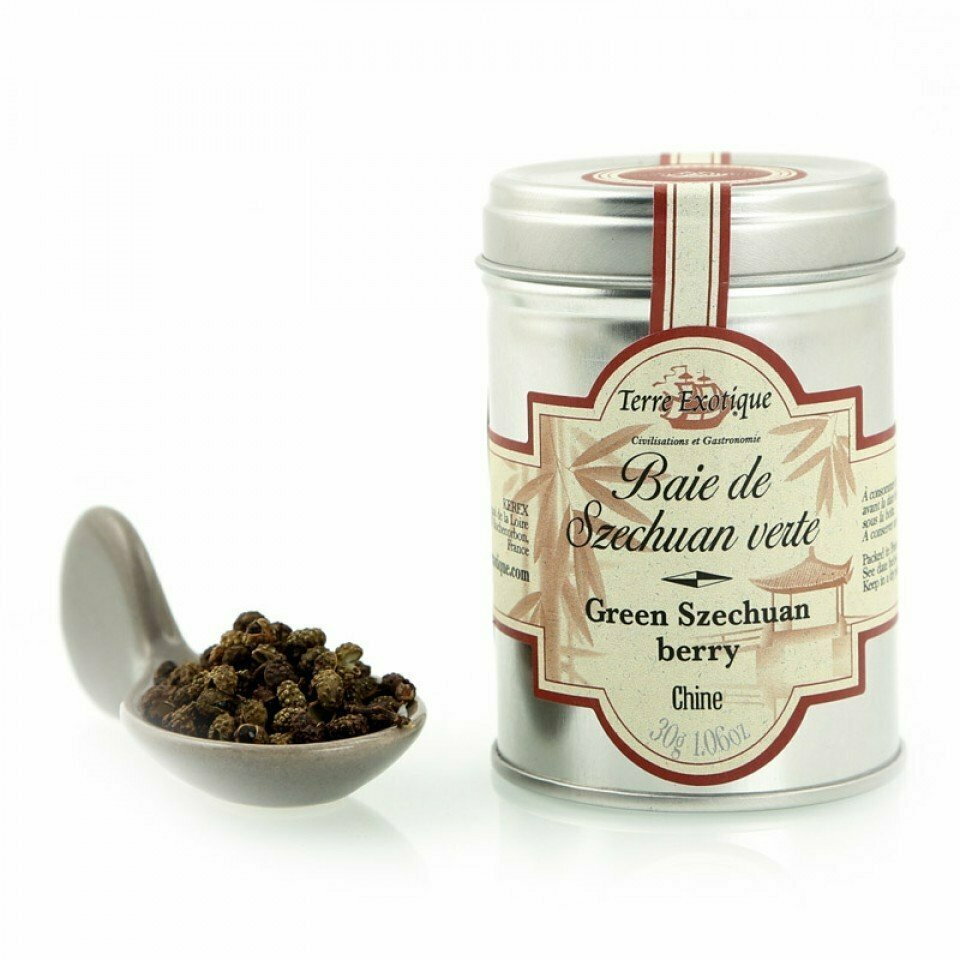 Green Sichuan Pepper | TERRE EXOTIQUE | 30g