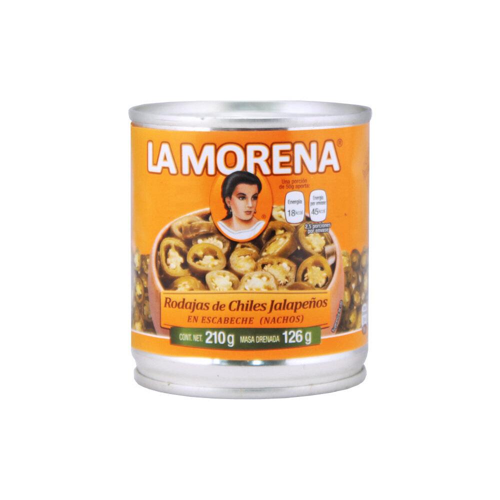 Viipaloidut Jalapenot | Sliced Jalapeno Chile Peppers | LA MORENA | 210 G