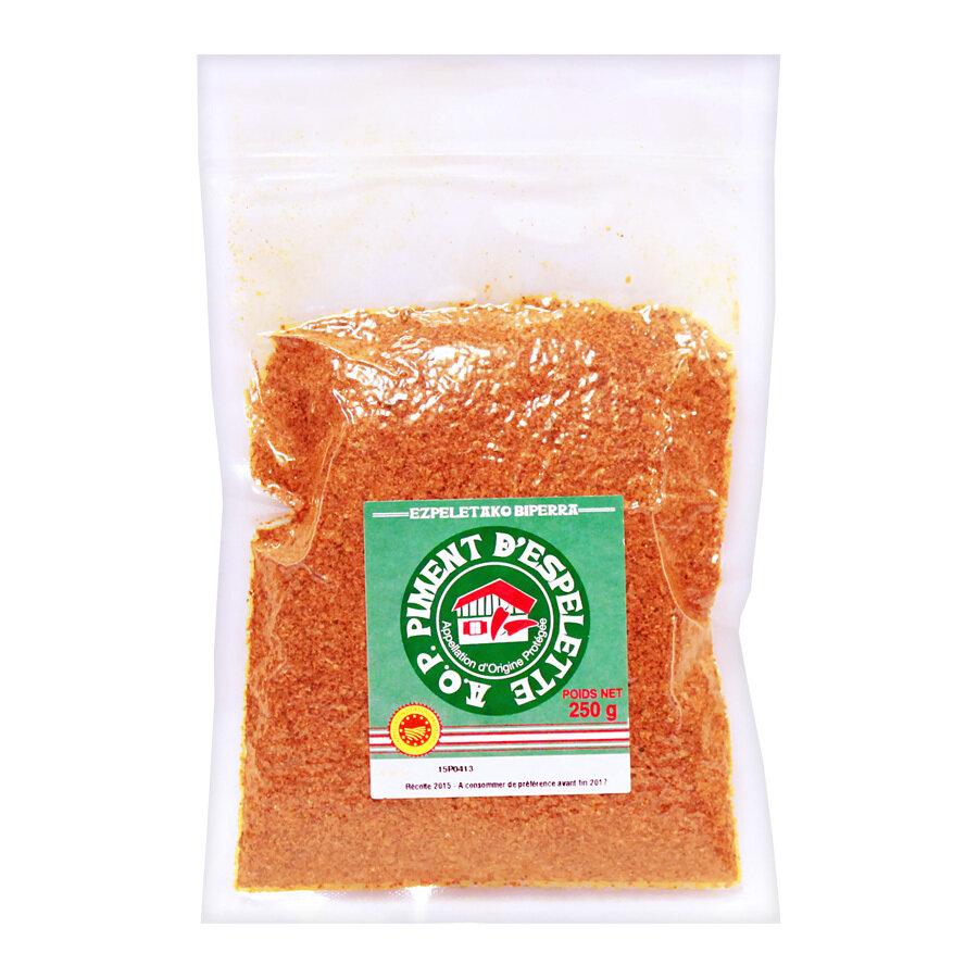 Espelette Chilijauhe A.O.P. | Espelette Chilli Pepper Powder PDO | TERRE EXOTIQUE | 250 g