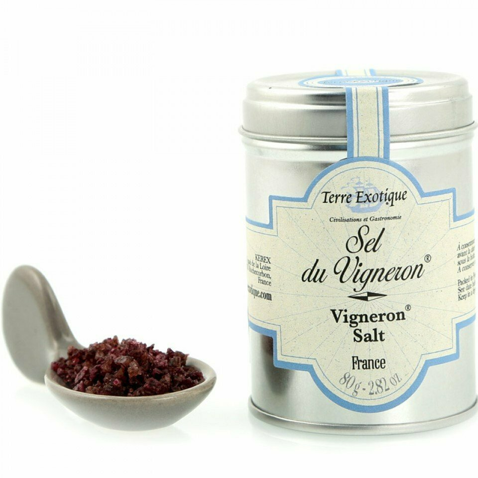 Vigneron Viinisuola | Vigneron (Cabernet) Salt | TERRE EXOTIQUE | 80g