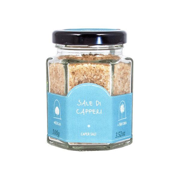 Kaprissuola | Caper Salt | LA NICCHIA | 100 G