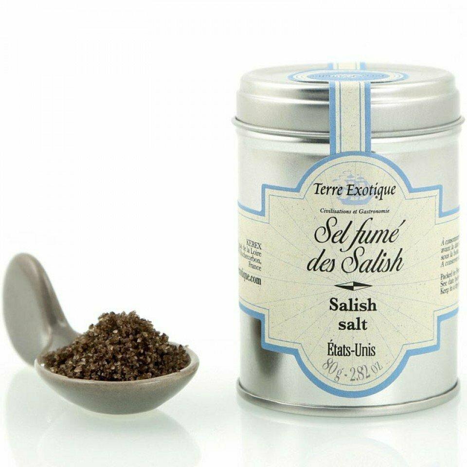 Salish Smoked Salt | TERRE EXOTIQUE | 80g