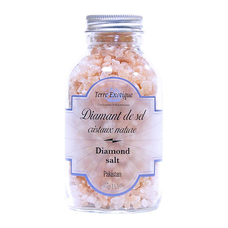 Himalajan Vaaleanpunainen Kristallisuola | Himalayan Pink Salt Cristals | TERRE EXOTIQUE | 315g