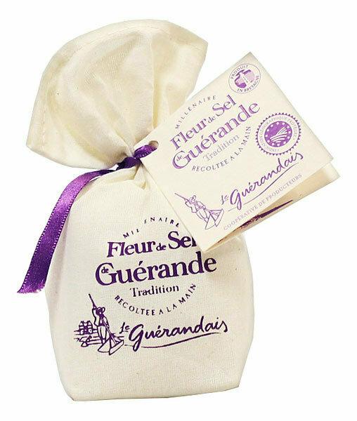 Fleur De Sel De Guerande | LE GUERANDAIS | 125 g linen bag